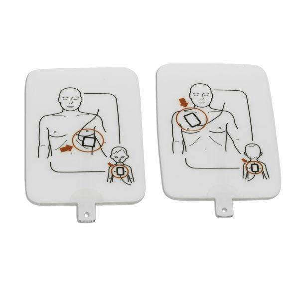 Electrodos Desfibrilador de entrenamiento UltraTrainer™ de la firma Prestan®